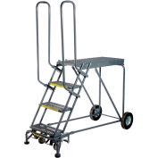 3 Step Steel Climbing Stock Picking Ladder, 600 lb. Capacity - RLS3