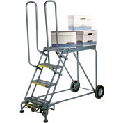 7 Step Steel Climbing Stock Picking Ladder, 600 lb. Capacity - RLS7