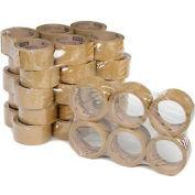 "3M Carton Sealing Tape 371 2"" x 55 Yds 1.9 Mil Tan - Pkg Qty 36"