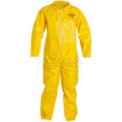 Dupont™Tychem® QC Disposable Coverall with Open Ended Wrists/Ankles, L, 12/Case