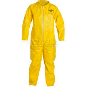 Dupont™Tychem® QC Disposable Coverall with Open Ended Wrists/Ankles, M, 12/Case