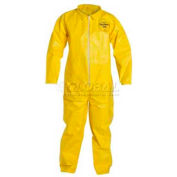 Tychem® QC Disposable Coverall with Open Ended Wrists/Ankles, XL, 12/Case
