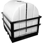 Hastings 500 Gallon Storage Tank with Forkliftable Skid 500 Gallon U-0500-TES