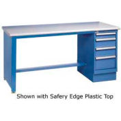 60 x 30 Maple Safety Edge 4 Drawer Workbench