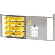 """Bin Panel Kit For 48"""" Bench - Gray"""