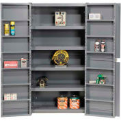 Storage Cabinet With Shelving In Doors And Interior