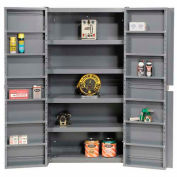 """Easy Assembly 38""""W Cabinet With Shelving In Doors And Interior  38 x 24 x 72"""