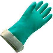 Bag of 12 Pairs 0.011 Thickness 13 Length Mapa Professional 470420 13 Length Green MAPA Stansolv A-10 Nitrile Lightweight Glove 0.011 Thickness Size 10 Chemical Resistant