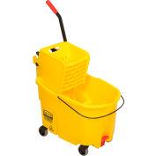 Rubbermaid Wavebrake® Mop Bucket & Wringer Combo w/Side Pressure - 44 Qt.