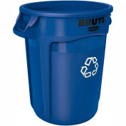 20 Gallon Round Rubbermaid Brute Recycling Container