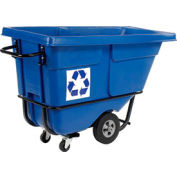 Rubbermaid® 1305-73 Mobile Recycling Tilt Truck Container