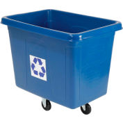 Rubbermaid® 4616-73 Mobile Recycling Container Cube Truck