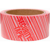 "Heavy-Duty Carton Sealing Tape ""Security Tape"" Print 2"" x 55 Yds 2.3 Mil"