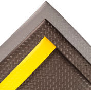 "NoTrax® Diamond Sof-Tred™ Anti-Fatigue Mat 1/2"" Thick 2' x 60' Black"