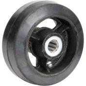 "5"" x 2"" Mold-On Rubber Wheel - Axle Size 5/8"""