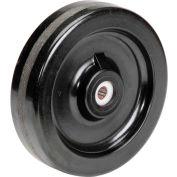 "8"" x 2"" Molded Plastic Wheel - Axle Size 5/8"""