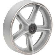 """8"""" x 2"""" Semi-Steel Wheel - Axle Size 3/4"""""""
