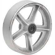 """8"""" x 2"""" Semi-Steel Wheel - Axle Size 1/2"""""""