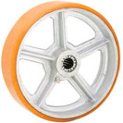 """4"""" x 1-1/2"""" Polyurethane Wheel - Axle Size 3/4"""""""