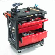 Rubbermaid FG773488BLA 5 Drawer Mobile Work Center
