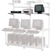 "Additional 72""W x 18""D Shelf for LAN Workstation, 1/Pack"