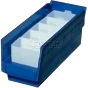 "Akro-Mils Bin Cup 30102 For Shelf Bins - 5"" x 2"" x 3"", White - Pkg Qty 24"