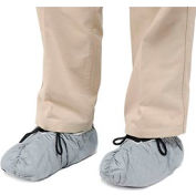 """DuPont™ Disposable Skid Resistant Tyvek® 5""""H Shoe Covers, Gray, 200/Case"""