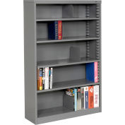 "Quick Adjust Steel Bookcase - 60""H Gray"