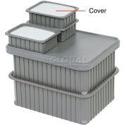 "Dandux Insert Cover 50B0224LI for Dividable Grid Stackable Box, 24""L x 11""W, Clear"