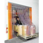 Scratch Resistant Strip Door Curtain 14'W x 12'H