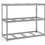"Wide Span Rack 96""W x 24""D x 84""H With 3 Shelves No Deck 1100 Lb Capacity Per Level"