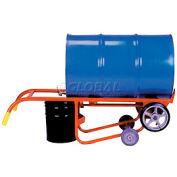 Wesco® 4-Wheel Dispensing Drum Truck 270203 for 30 & 55 Gallon Steel Drums