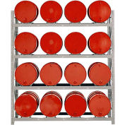 Modern Equipment MECO DPR16 4 Tier Drum Pallet Rack