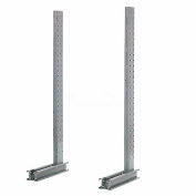 """Cantilever Rack Single Sided Upright, 45"""" D x 6' H, 7400 Lbs Capacity"""