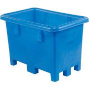 "Dandux Pallet Container 51080716U - 42""L x 29""W x 31'H Single Wall, Blue"