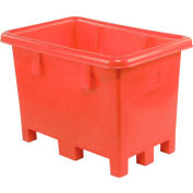 "Dandux Pallet Container 51080716R - 42""L x 29""W x 31'H Single Wall, Red"