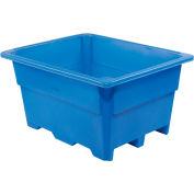 "Dandux Pallet Container 51-2030U - 52""L x 42""W x 30""H Single Wall, Blue"