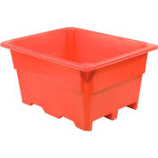 "Dandux Pallet Container 51-2030R - 52""L x 42""W x 30""H Single Wall, Red"