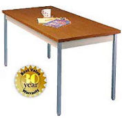 "Walnut Activity Table - Square Edge Top - 30""W X 60""L"