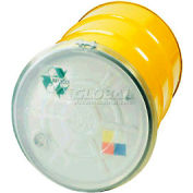 CDF Drumsaver™ Lid Drum Cover PLTH55C for Closed Head Drums - Clear - Pkg Qty 25