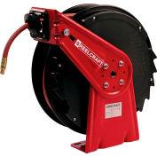 "Reelcraft RT450-OLP 1/4""x 50' 300 PSI Medium Duty Low Pressure Spring Retractable Hose Reel"