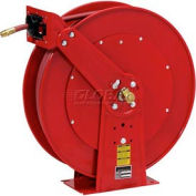 "Reelcraft 7925 OLP 3/4""x 25' 250 PSI Spring Retractable All Steel Low Pressure Hose Reel"
