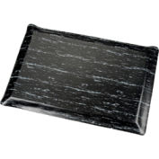 "Marbleized Top Ergonomic Mat 7/8""Thick 2x3 Foot Black"