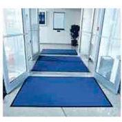 "Entryway Mat Inside Final Drying 36"" W Full 60' Roll Blue"