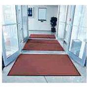 "Entryway Mat Inside Final Drying 48"" W Full 60' Roll Burgundy"