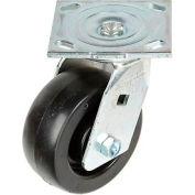 "Faultless Swivel Plate Caster 1461-5 5"" Polyolefin Wheel"