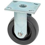 "Faultless Rigid Plate Caster 3461S-5 5"" Polyolefin Wheel"