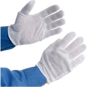 PIP 97-500H Light Weight Inspection Gloves, Hemmed, Cotton, Men's, 1-Dozen