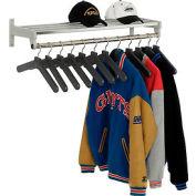 Garment Wall Rack Includes 12 Hangers