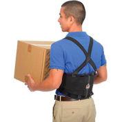 Ergodyne® ProFlex® 100 Economy Back Support W/Rubber Track Webbing, Small, Black